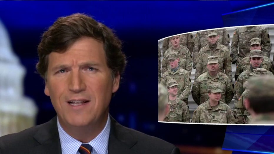 Tucker Carlson: Why are thousands of federal troops still in Washington?