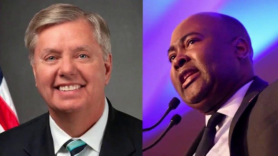 Lindsey Graham accuses Dem opponent of 'manufacturing' outrage over segregation remark