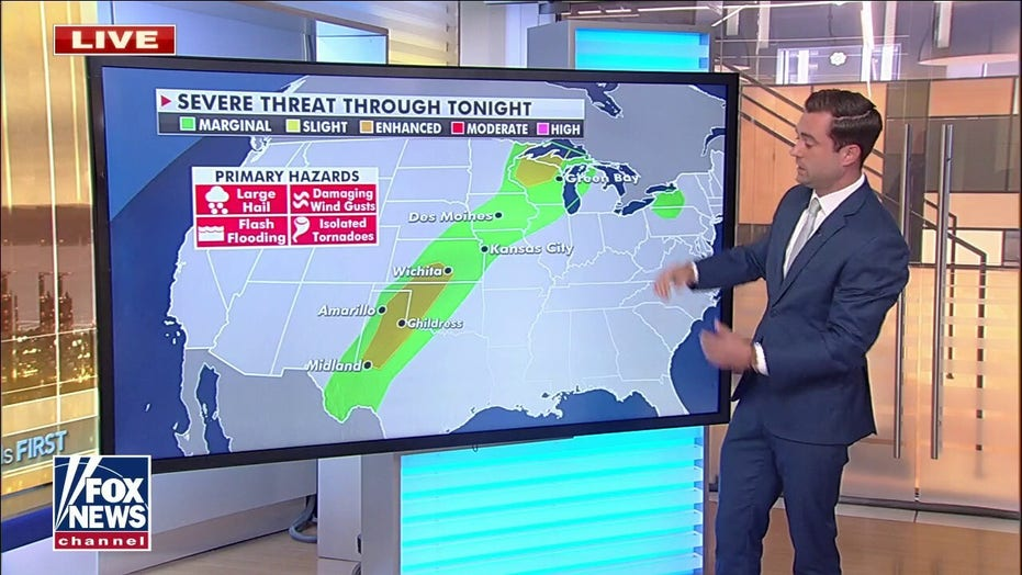 National weather forecast: Severe storms target central US