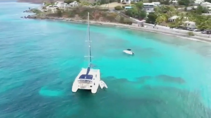 Sarm Heslop was last seen on this 47-foot catamaran nearly two weeks ago