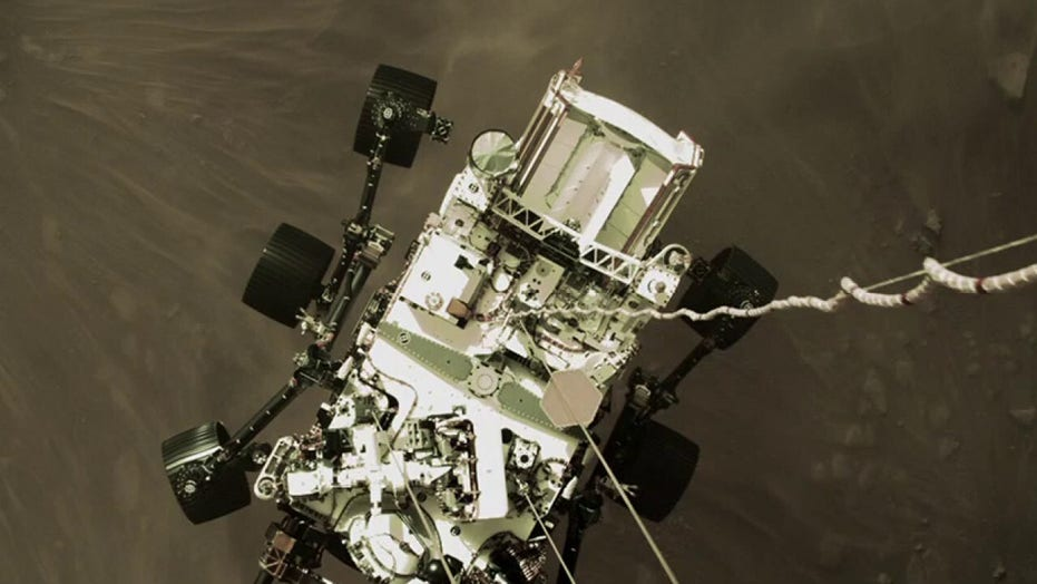 NASA releases 'stunning' images from Perseverance rover on Mars