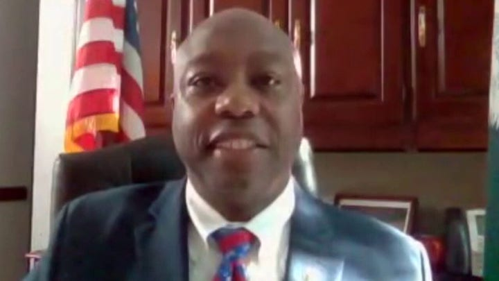 Sen. Tim Scott: US can't tear down history for the sake of anarchy