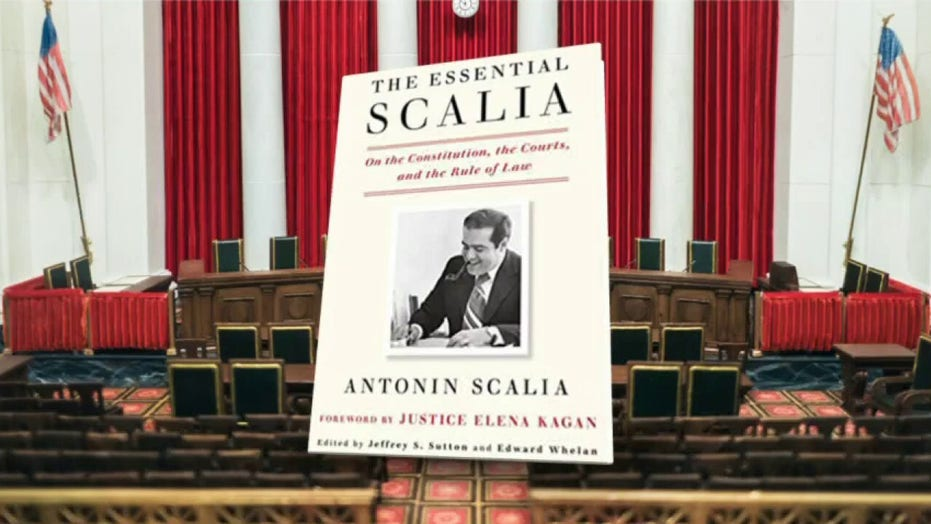 Christopher Scalia previews his father's book 'The Essential Scalia'