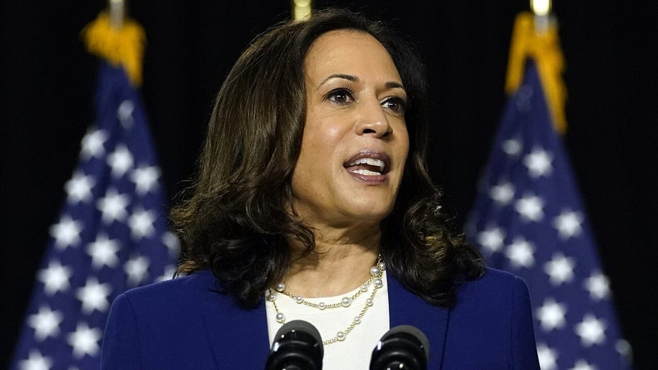 Kamala Harris adopts Biden's 'Build Back Better' catchphrase at first campaign event