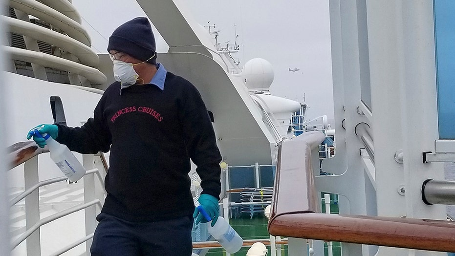 21 people aboard Grand Princess cruise ship have tested positive for coronavirus