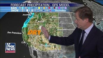 National forecast for Saturday, September 12