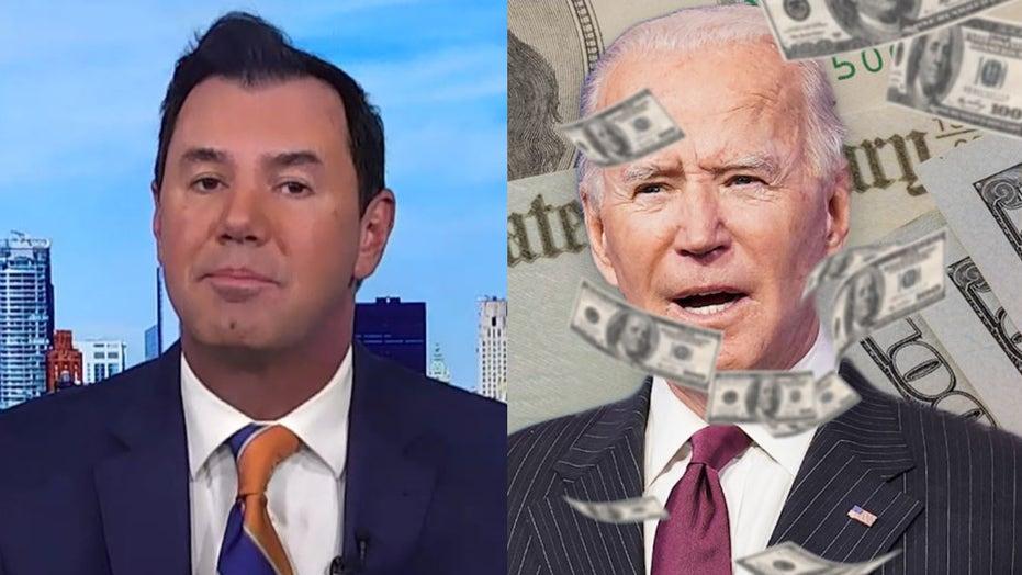 Joe Concha rips 'Big Guy' Joe Biden for downplaying inflation fears on 'sham' network CNN's town hall