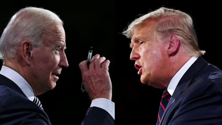 How did undecided voters react to the first Trump-Biden debate?