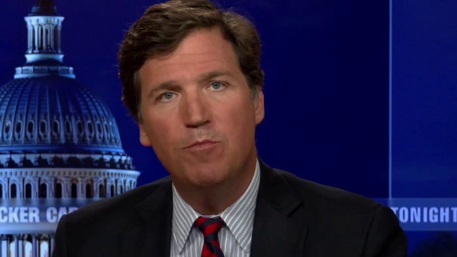 Tucker Carlson hits Dems for 'carefully selected police officers' invited to Jan 6 commission hearing