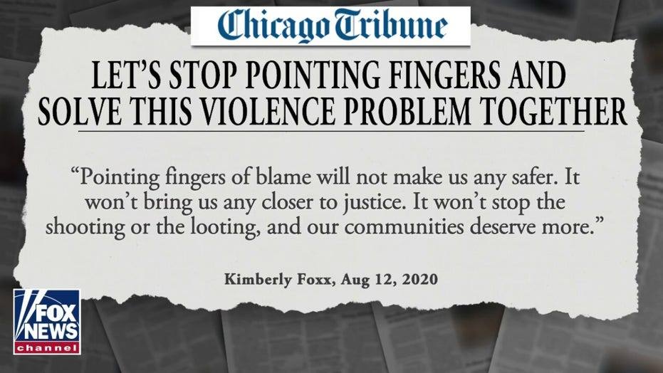 Cook County State's Attorney Kim Foxx calls to 'stop pointing fingers' and solve Chicago crime