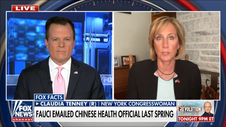 Fauci's emails leave 'troubling' story on COVID lab leak theory, time to 'retire or be fired': Rep. Tenney