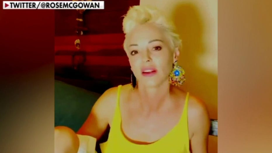 Rose McGowan pushes back on critics of her Fox News appearance, gets blocked by Olbermann