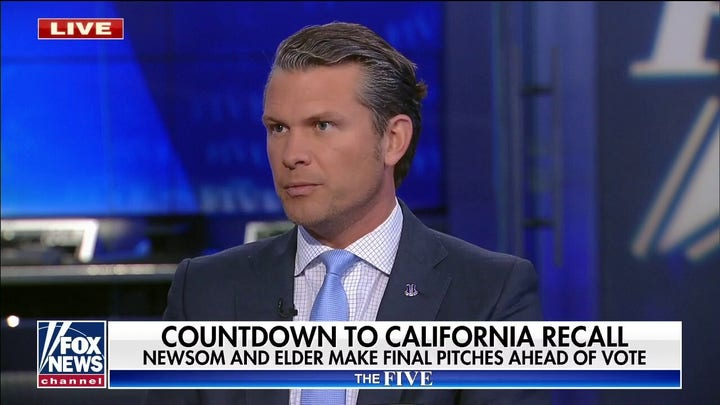 What's happening in California is how the modern Democrat Party wants to win elections: 헤게세스