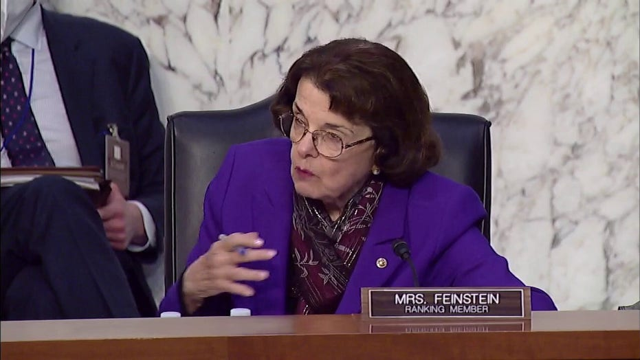 Liberal group calls for Feinstein to stand down from Judiciary Committee role after Graham hug