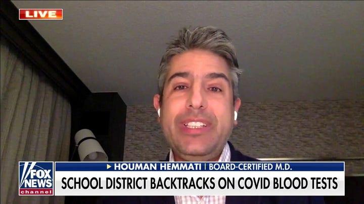 California school district asks to draw blood for coronavirus testing