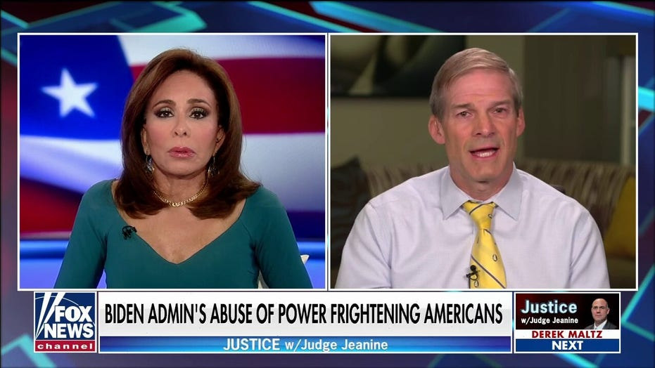 Jim Jordan on 'Justice': This was the 'last straw' for many Americans