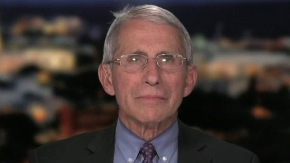 Dr. Anthony Fauci breaks down President Trump's phased approach to re-opening America