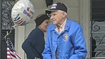 Community comes together to celebrate WWII veteran's 100th birthday