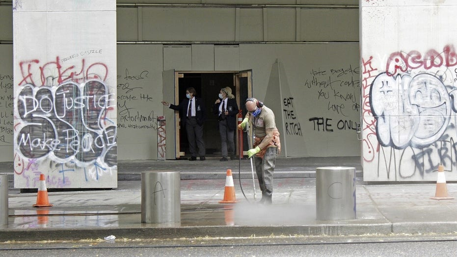 Federal courthouse becomes center of protest movement in Portland