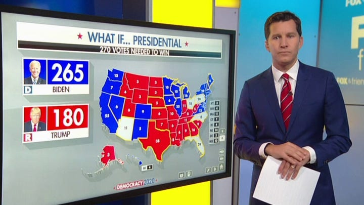What swing states are key to a Trump election victory?