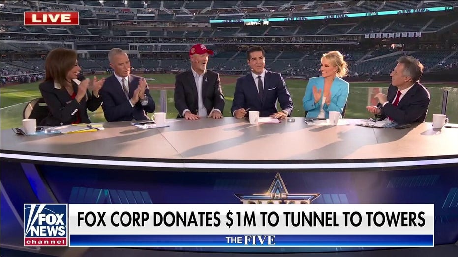 Fox Corp. announces $1M donation to Tunnel to Towers in support of first responders, military heroes
