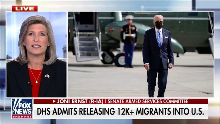 Sen. Joni Ernst: Biden needs to go to southern border and witness humanitarian crisis