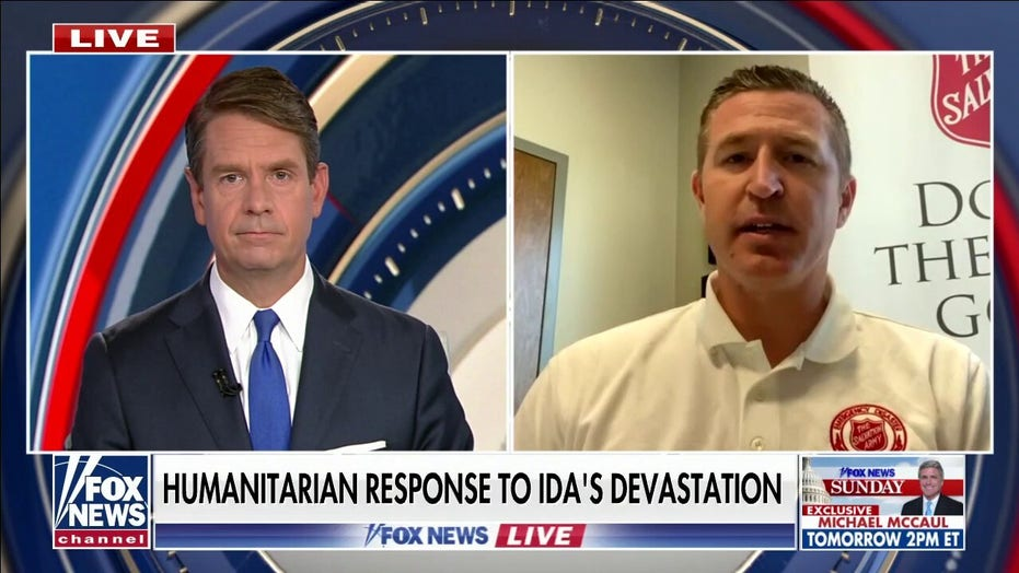 Humanitarian response to Hurricane Ida's devastation
