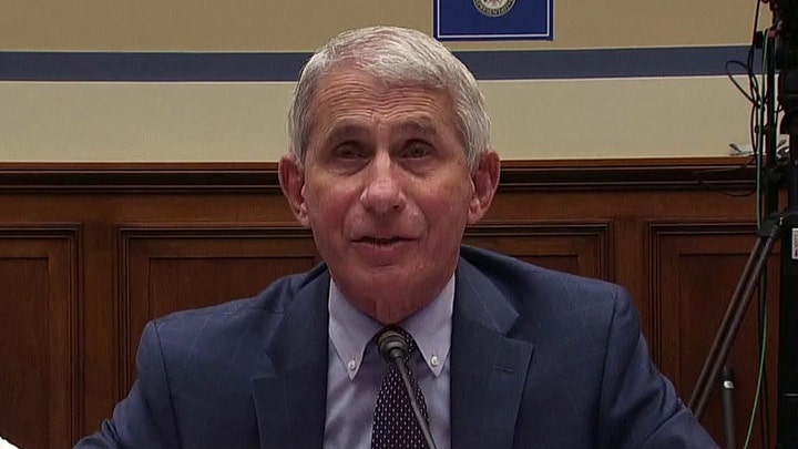 Dr. Fauci: Hope to have safe, effective vaccine by late fall or early winter