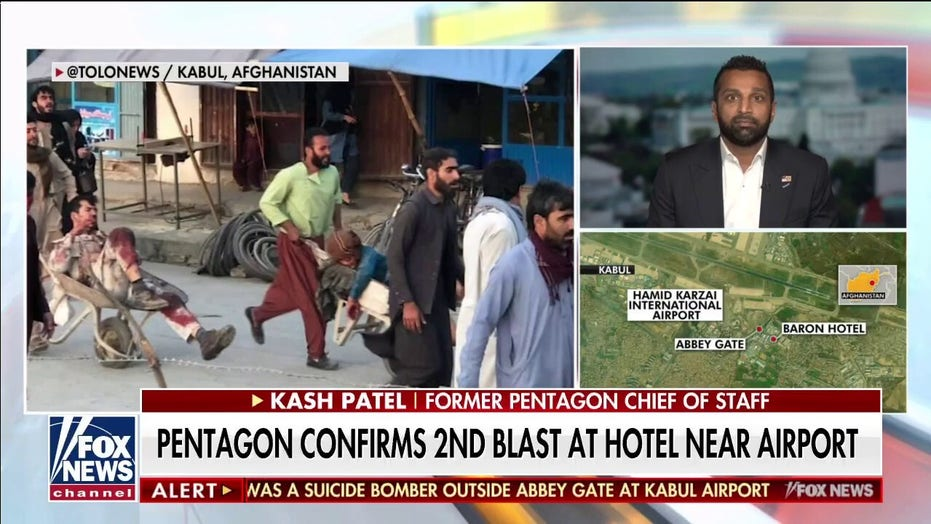 Kash Patel on Kabul attack: Taliban 'dictating the terms' to Biden of US exit from Afghanistan