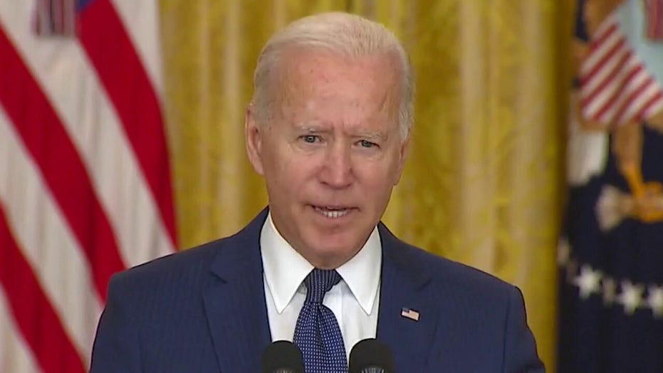 Biden repeatedly implies he's not in charge of when, where he can take questions from the press