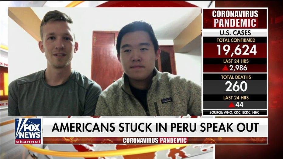 Americans stuck in Peru speak out