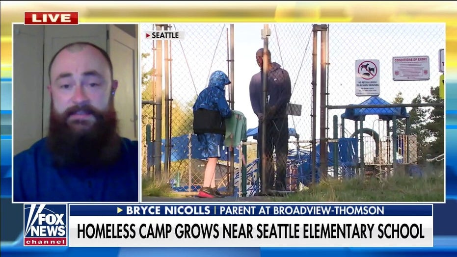 Parents outraged as Seattle elementary school near homeless encampment faces break-in, lockdowns