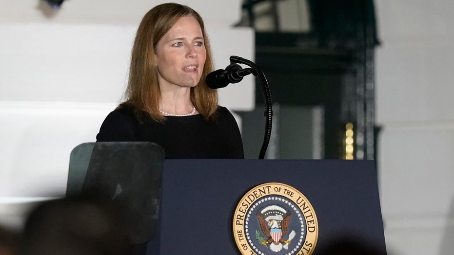 Justice Amy Coney Barrett hearing first Supreme Court oral arguments Monday (foxnews.com)