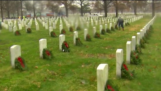 Wreaths Across America founder on annual wreath-laying tradition at Arlington National Cemetery
