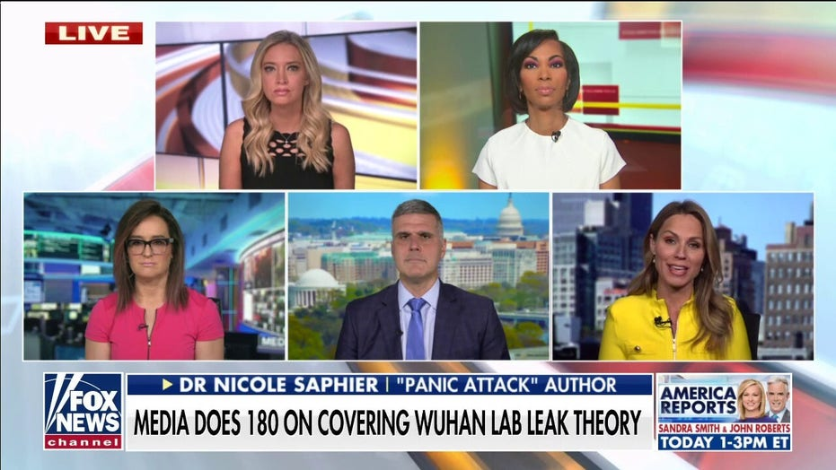 McEnany torches media, liberal reporters for dismissing Wuhan lab questions