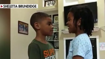 6-year-old girl teaches bible verse to her brother to ease his coronavirus fears