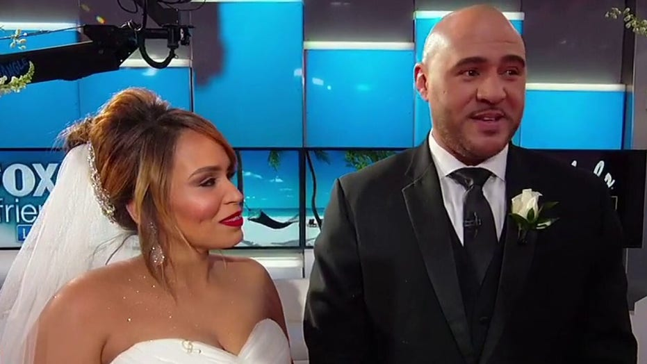 'Fox and Friends' wedding: US Army veteran and husband receives special surprise!