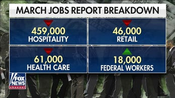 Hospitality sector takes biggest hit in March jobs report