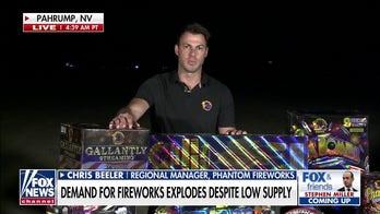 Phantom Fireworks celebrates July 4th with grand display in Nevada