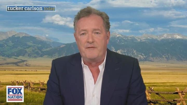 Piers Morgan reacts to Meghan Markle's claim of being suicidal