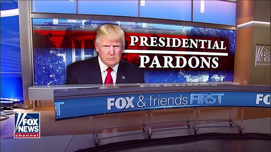 President Trump grants 73 pardons, commutes 70 sentences