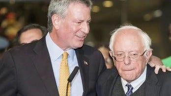 Mayor Bill de Blasio set to hit the campaign trail with Bernie Sanders