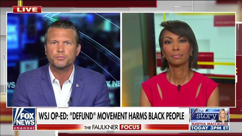 'So-called journalists' had no interest in truth with Lafayette Park protest: Hegseth