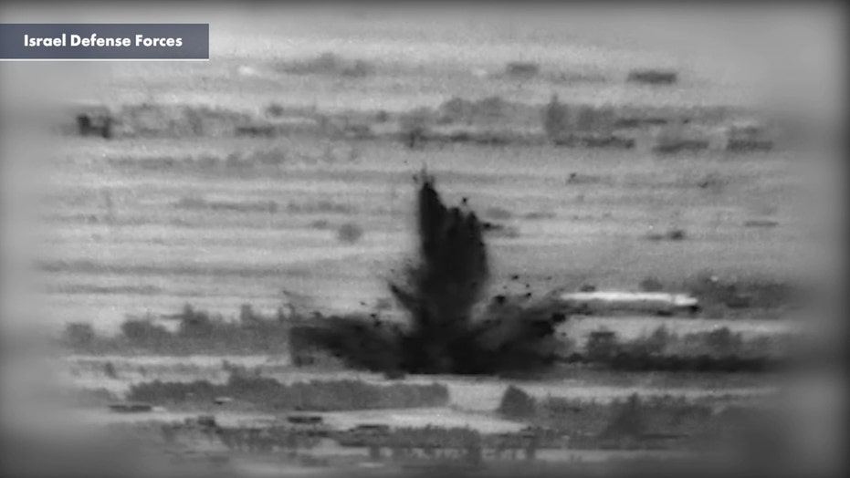 Israel launches airstrike on Iranian targets in Syria