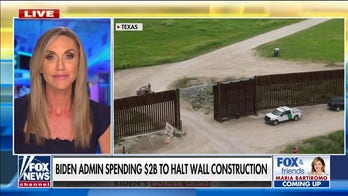 Lara Trump: Biden's border handling a 'total joke' for costing taxpayers $2B to halt wall construction