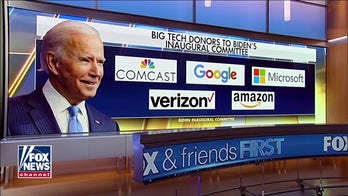 Amazon, Google among corporate donors to Biden's inauguration