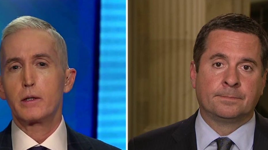 Nunes on report Schiff pushing to be California AG: His departure would improve House Intel Committee