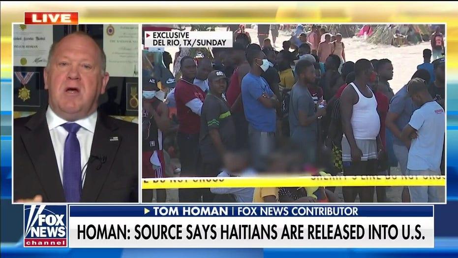 Tom Homan blasts Mayorkas' remarks at border: 'I wanted to throw something at the TV'