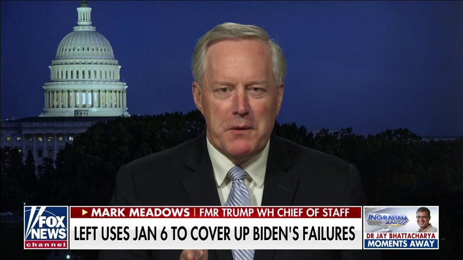 Mark Meadows: Democrats want to replace a robust economy with big government