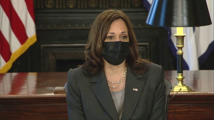 VP Harris calls Texas abortion law 'patently unconstitutional,' urges Roe v. Wade to be codified